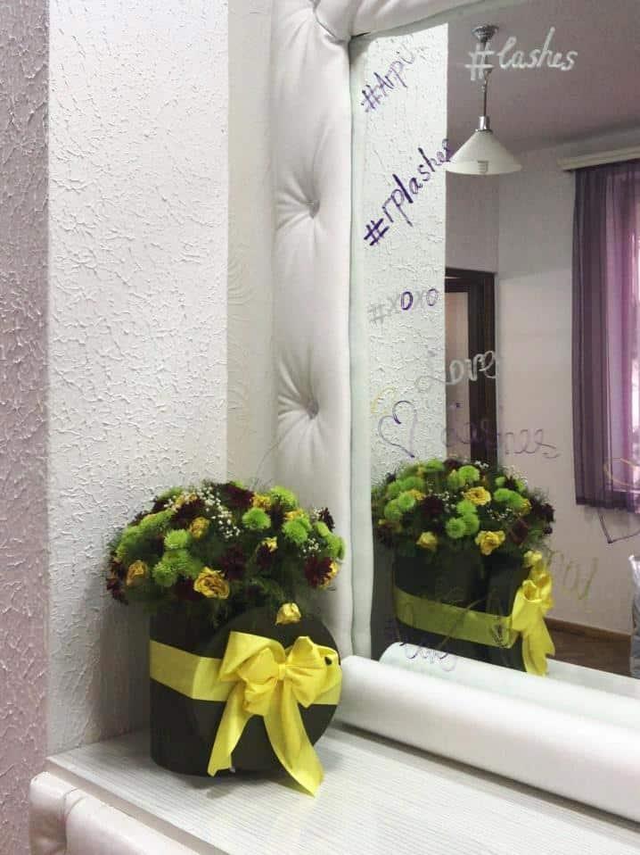Салон Liana Pro, главный зал, зеркало